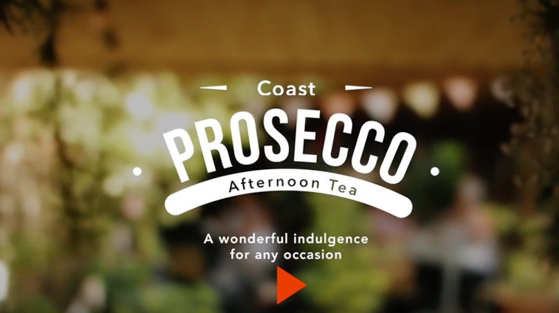 Coast Prosecco Afternoon Tea